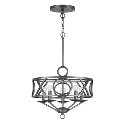 Odette 5-Light Candle-Style Chandelier