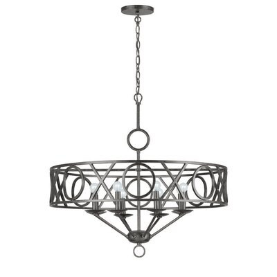 Odette 8-Light Candle-Style Chandelier