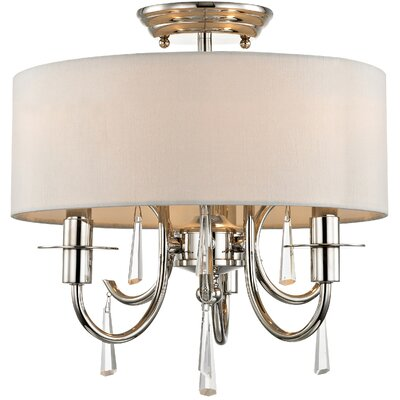 Stepney 3-Light Semi Flush Mount