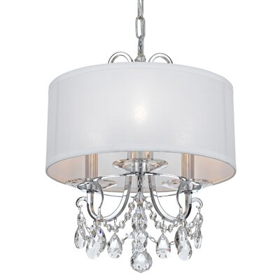 Shreyas 3-Light Mini Chandelier Crystal Grade: Swarovski Strass
