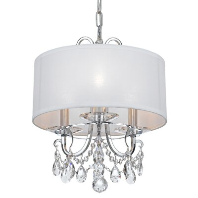 Shreyas 3-Light Mini Chandelier Crystal Grade: Swarovski Spectra