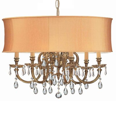 Corrinne Traditional 6-Light Drum Chandelier