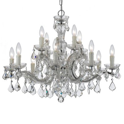 Marianne 12-Light Crystal Chandelier
