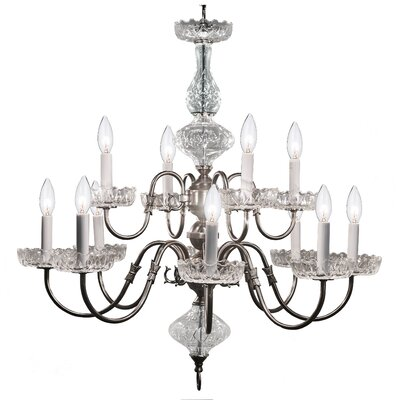 Bagwell 12-Light Candle-Style Chandelier