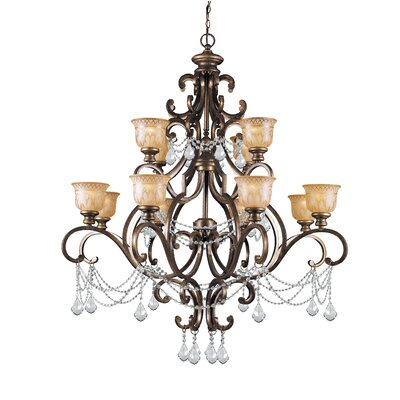 Bahr 12-Light Candle-Style Chandelier