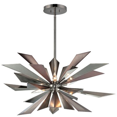 Galaxy 7-Light Sputnik Chandelier