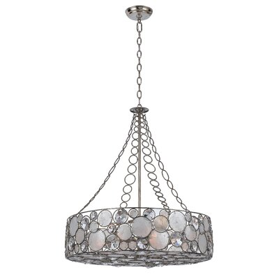 Fonville 8-Light Drum Chandelier