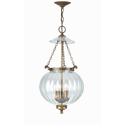 Melon Jars 1-Light Foyer Pendant Size: 12 W