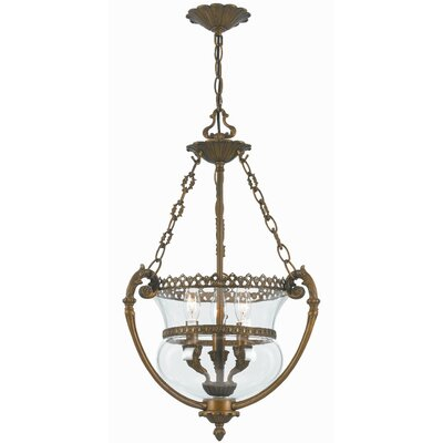 Camden Hill 3-Light Foyer Pendant