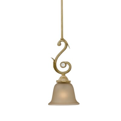 Winslow 1-Light Pendant Finish: Champagne