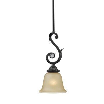 Winslow 1-Light Pendant Finish: Dark Rust