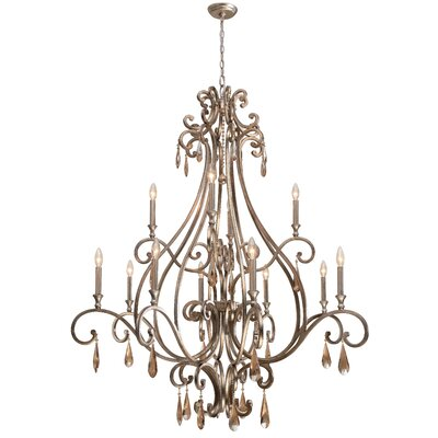 Avon 12-Light Candle-Style Chandelier
