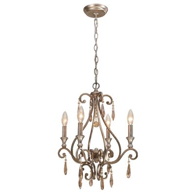 Avon 4-Light Candle-Style Chandelier