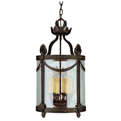 Regal Series 6-Light Hanging Lantern Foyer Pendant