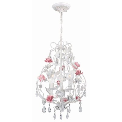 Lola 3-Light Candle-Style Chandelier