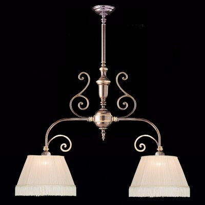 Hot Deal 2-Light Flush Mount Finish: Roman Bronze