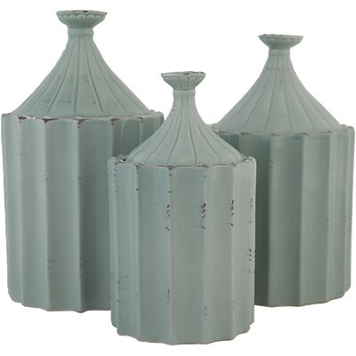 Arla 3 Piece Decorative Jar Set