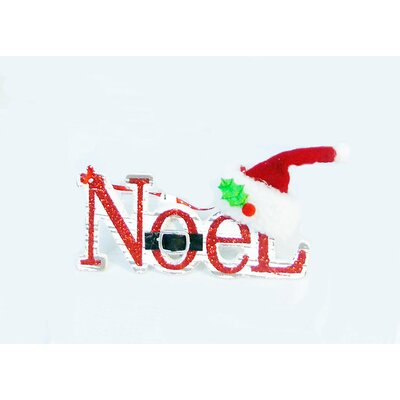 Noel MDF Shaped Ornament THLA7705 40584336