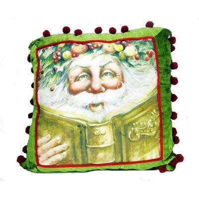 Santa Velvet Accent Pillow