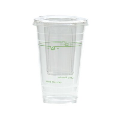 Disposable Cups Ice Cone Set DISPIC18-CLR