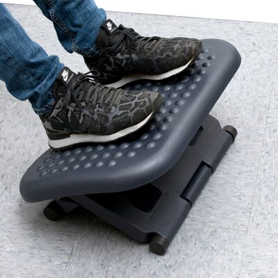 Comfy Adjustable Height Foot Rest