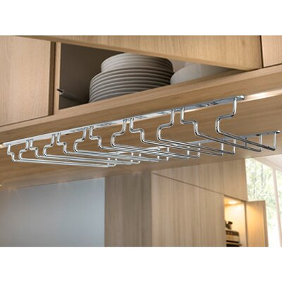 Under Shelf Wine Glass Rack