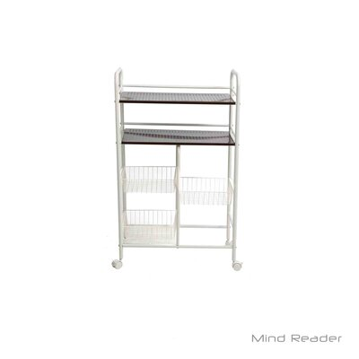 Portable Metal Storage Kitchen Cart