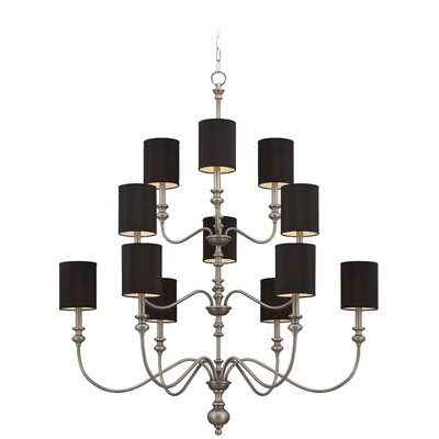 Willow Park 12-Light Candle Style Chandelier