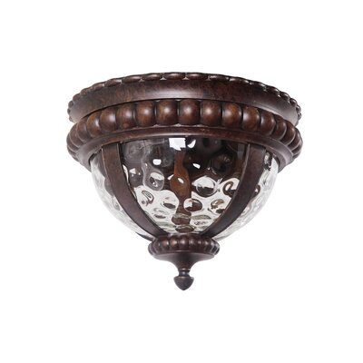 Prescott II 2-Light Flush Mount