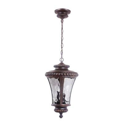 Prescott II 3-Light Outdoor Hanging Lantern