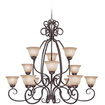 Donaldson 12 Light Chandelier