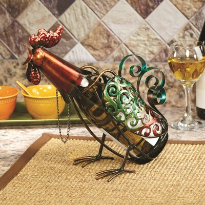Bailey Figurine 1 Bottle Tabletop Wine Rack