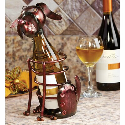 Bailor Figurine 1 Bottle Tabletop Wine Rack