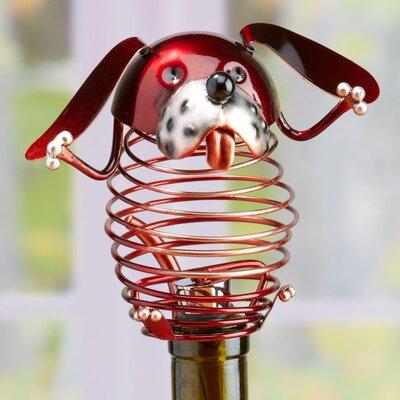 Figurine Dog Wine Bottle Stopper DFA1874