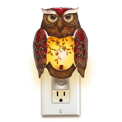 Eshelman Decor Owl Night Light