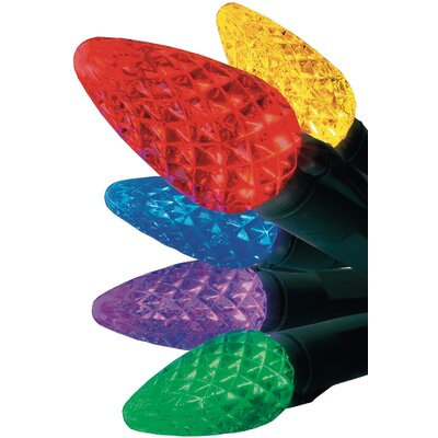 Christmas 50 LED Battery Operated C-5 Light Color: Multi Colored