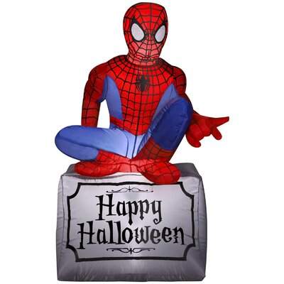 Spider-Man Airblown Inflatable Halloween Decoration 55506X