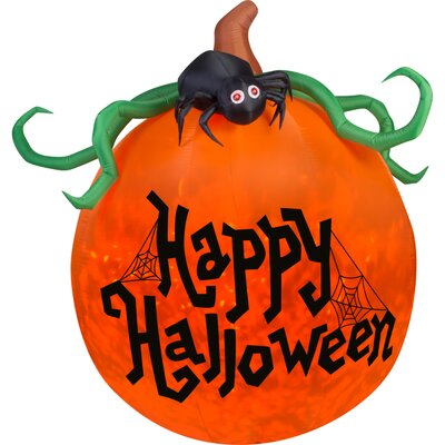 Airblown Inflatables Projection Kaleidoscope Happy Halloween Pumpkin 70593X