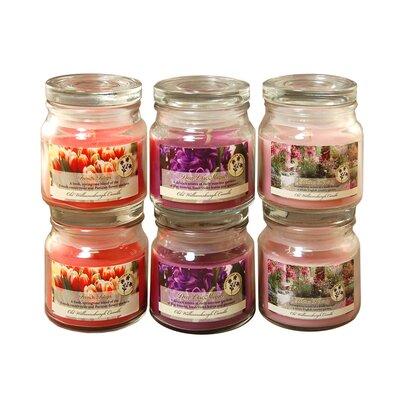 Floral French Tulip / Deep Lilac / Heather Hyacinth Jars 27406