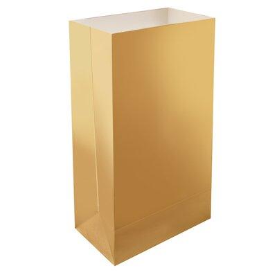 Luminaria Light Bag Color: Gold