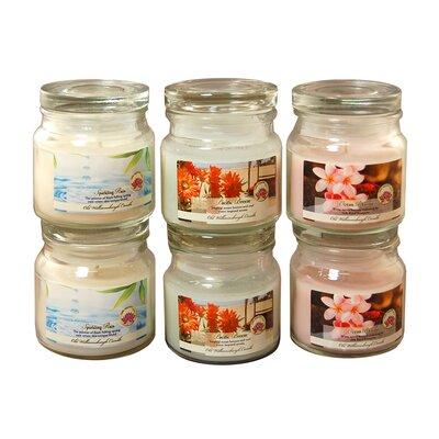 Sparkling Rain / Pacific Breeze / Ocean Blooms Candle Jars 27506