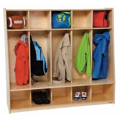 Healthy Kids 1 Tier 5-Section Tip-Me-Not Locker