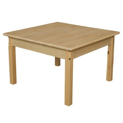 "Wood Designs Kids Table - Leg Height: 18"", Tabletop Size: 30"" at Sears.com"