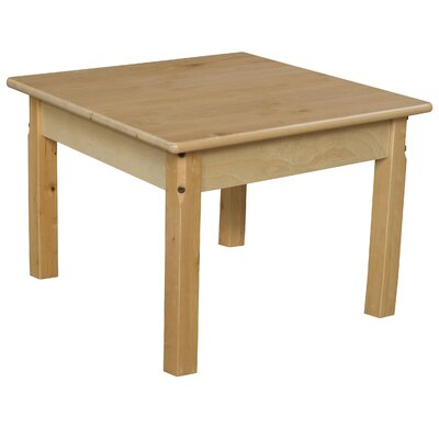 "24"" Square Activity Table Size: 17"" H x 24"" W x 24"" D WD82416"