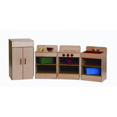 Wood Designs 4 Piece Tot Kitchen Appliances Set with Hutch at Sears.com