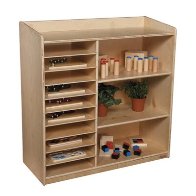 Natural Environment Sensorial Discovery Shelving Unit WD15139