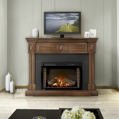 Braxton 29 TV Stand with Electric Fireplace