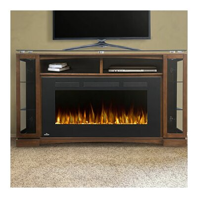 Shelton 42 TV Stand with Electric Fireplace
