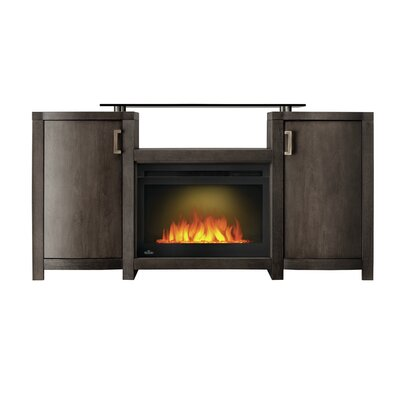 Whitney 60 TV Stand with Fireplace