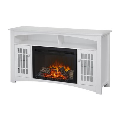 Adele Electric 56 TV Stand with Fireplace